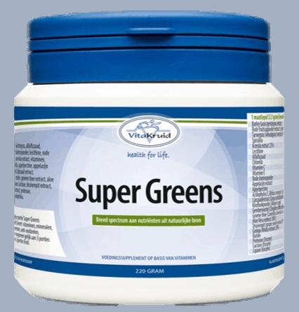 SuperGreens 220 gram darmgezondheid collageen aanmaak huid
